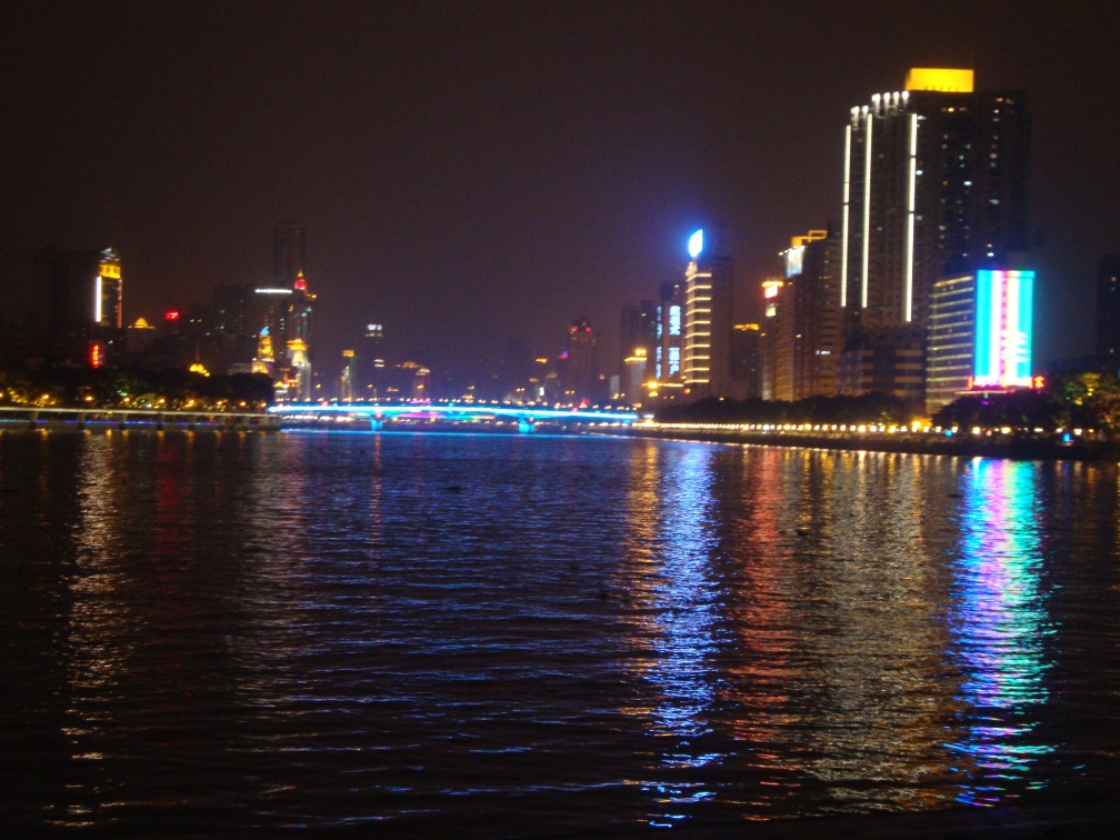 View of the Pearl River from Jiubaijie Street
