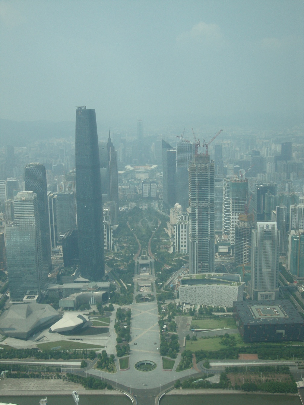 The New City from Canton Tower