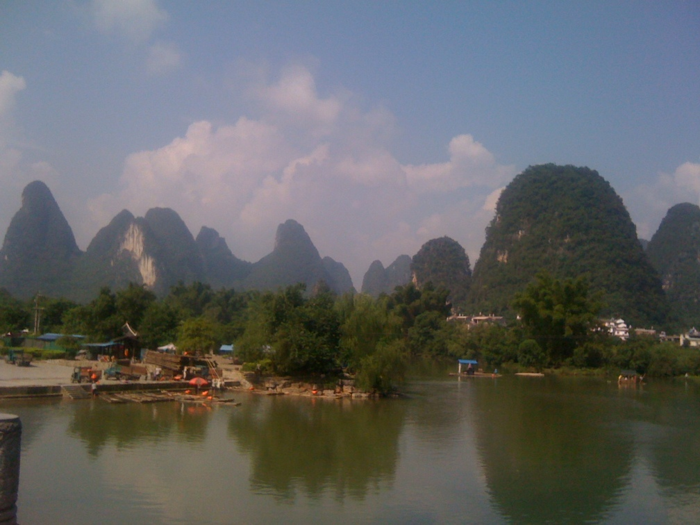 Yangshuo River, view from East Street