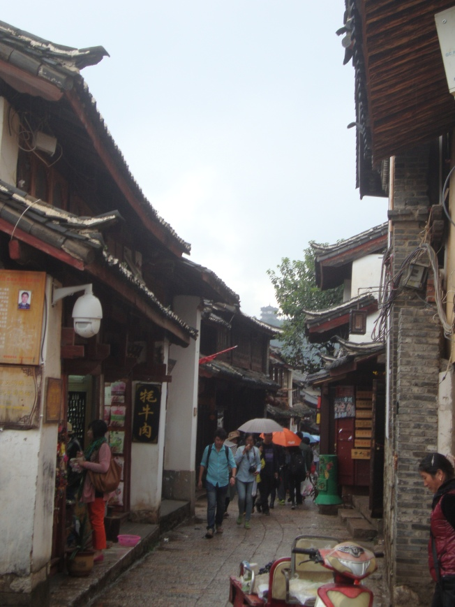 Streets of Lijiang's old city.