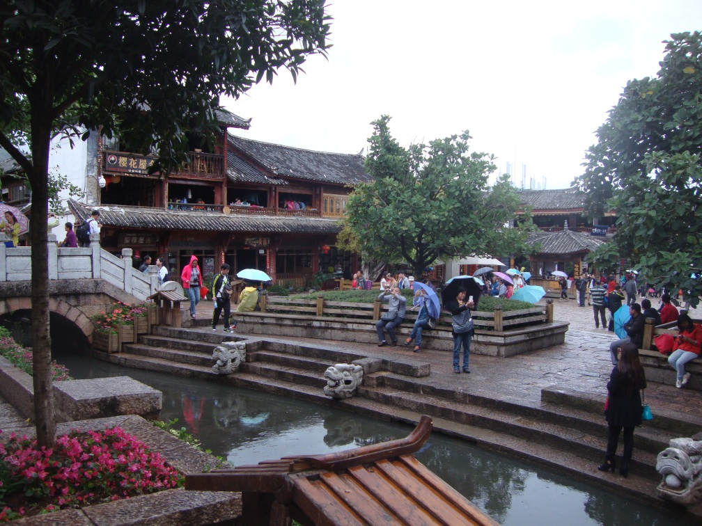 The Lijiang Square (Sifang)