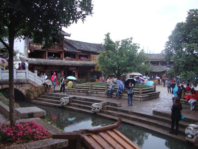 The Lijiang Square (Sifang)
